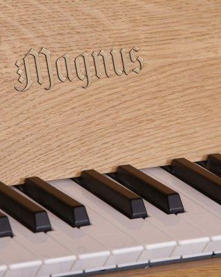 Plastic manual keyboards